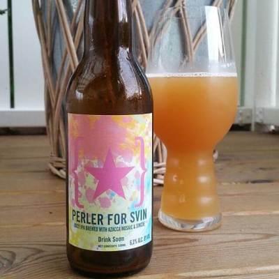 ¡Qué gran zumo la Perler for Svin de Lervig!