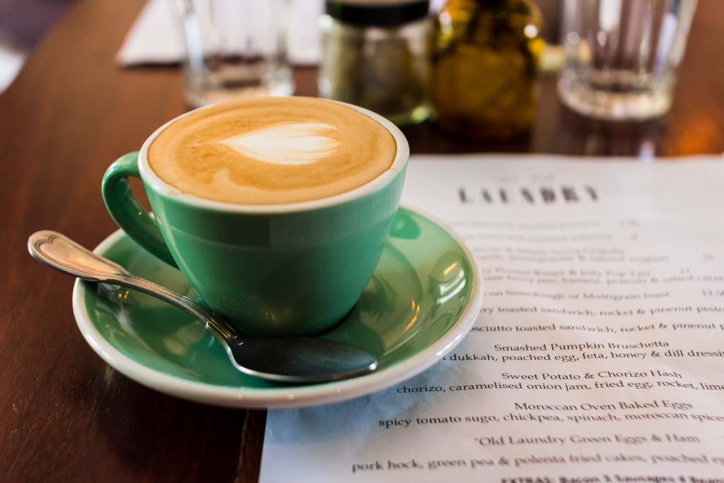 Coffee at the Old Laundry, Perth, Western Australia