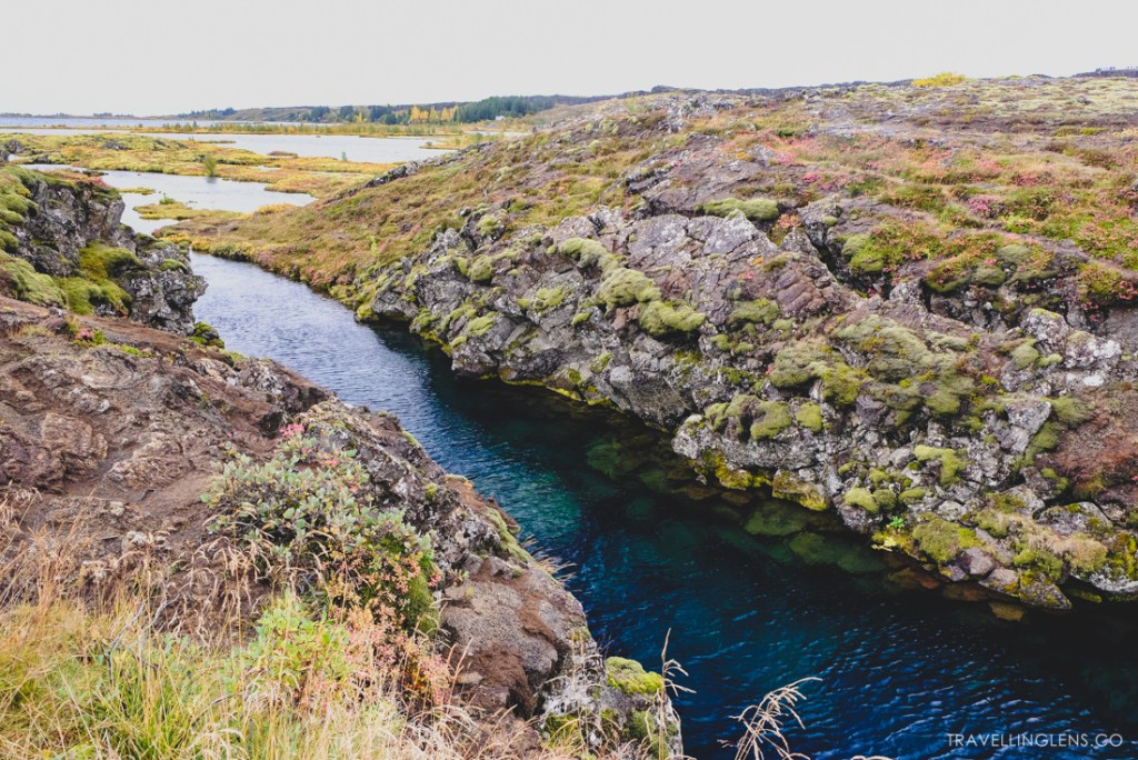 Silfra, snorkling between the tectonic plates