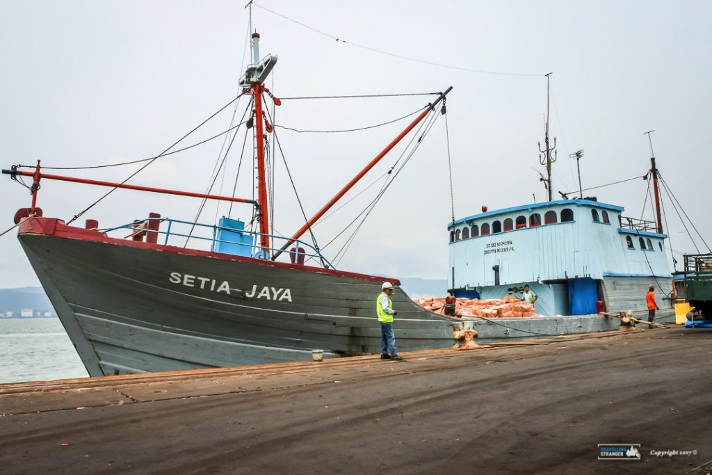 Setia Jaya docks in Penang