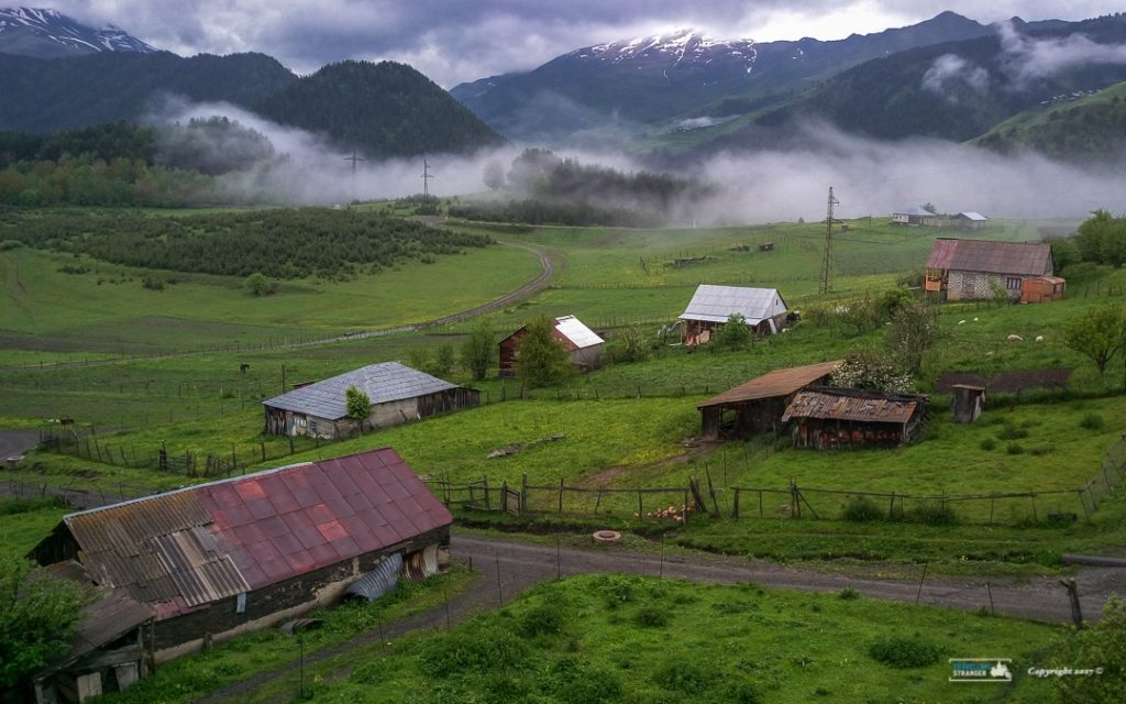 A view of Omalo