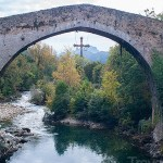 A Very Fine Bridge in Cangas de Onís, Spain