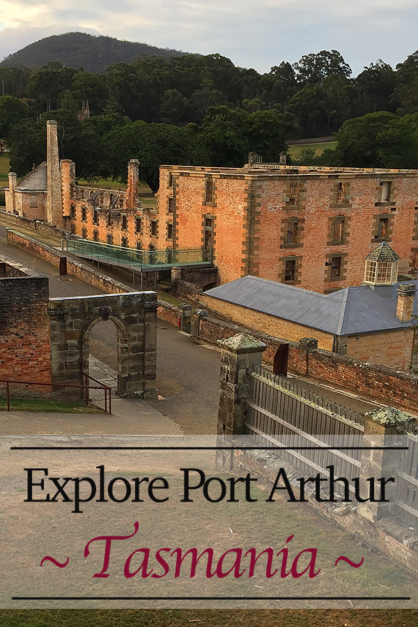 A friend and I were given free reign to explore Port Arthur before our ghost tour. A late afternoon wander throughout the empty grounds proved to be an excellent introduction to Tasmania's World Heritage convict site.