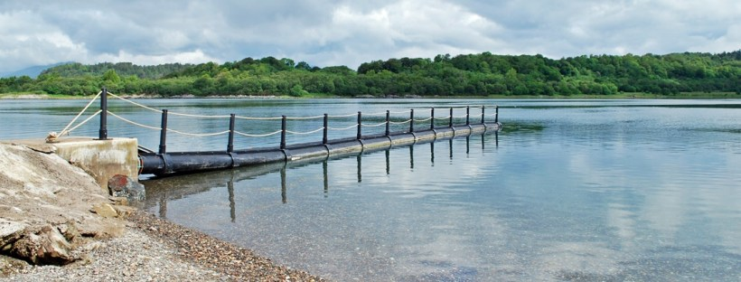Isle of Eriska Jetty Oban Scotland