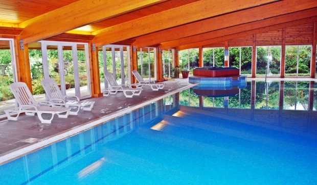 Swimming Pool at Isle of Eriska Hotel