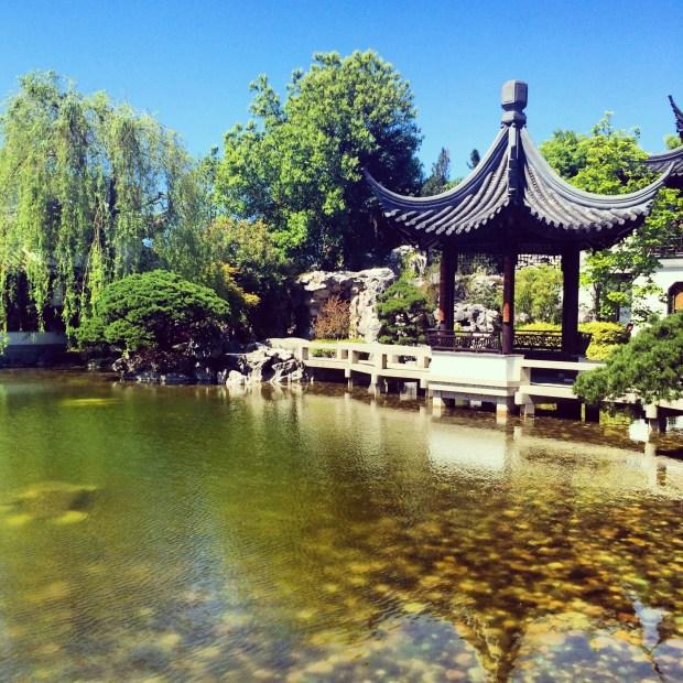 Relaxing Portland Lan Su Chinese Garden