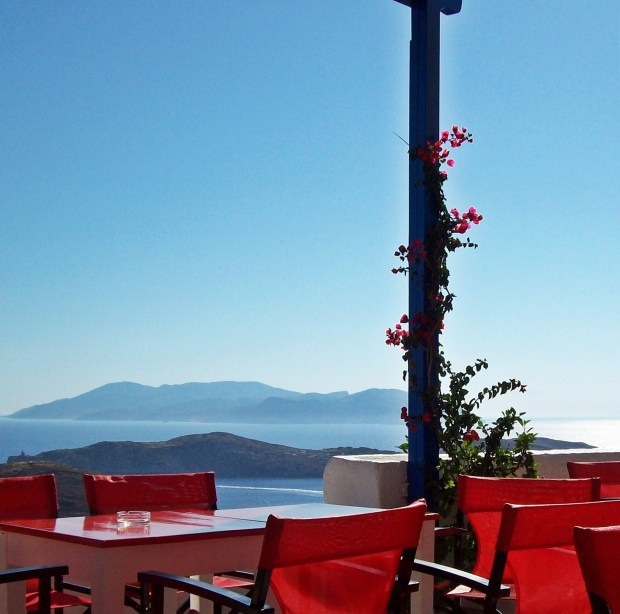 Francesco's Hostel Ios Greece Sunrise