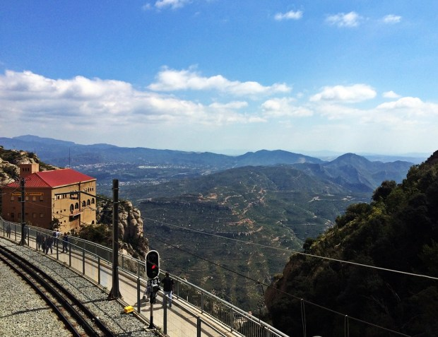Train Montserrat Barcelona