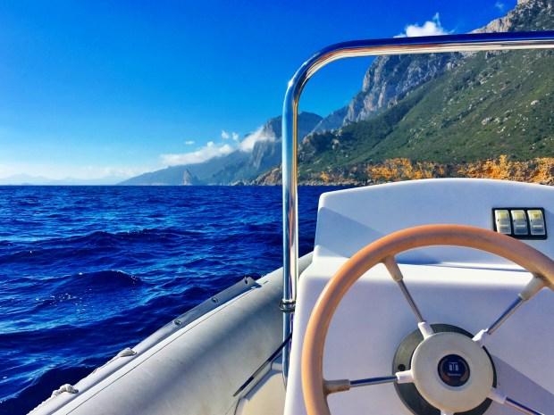 Boat Hire Golfo di Orosei Sardinia Italy