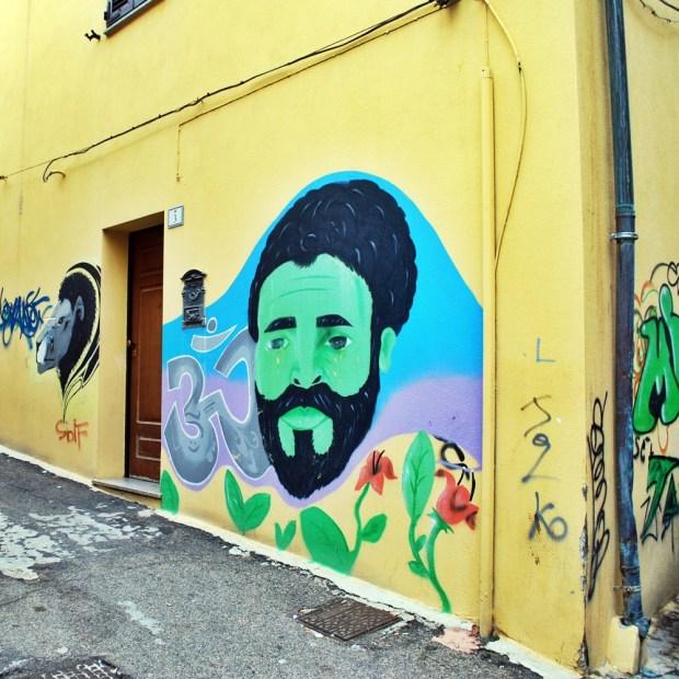 Street art in Nuoro