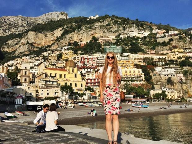 Fiona McNicol, Positano, Italy