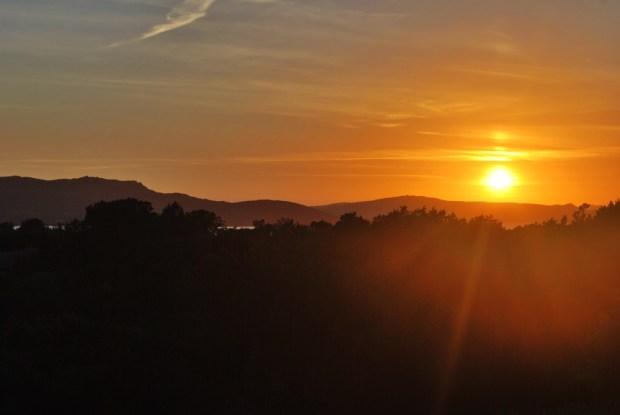 Sunset on the Isle of Caprera Sardinia