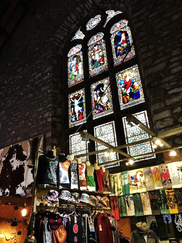 Christmas Shopping Tron Kirk Royal Mile Market Festive Things to do in Edinburgh
