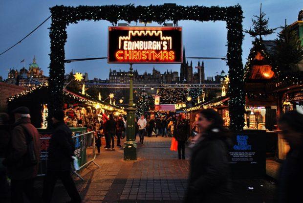 Edinburgh's Christmas German Market Festive Things to do in Edinburgh