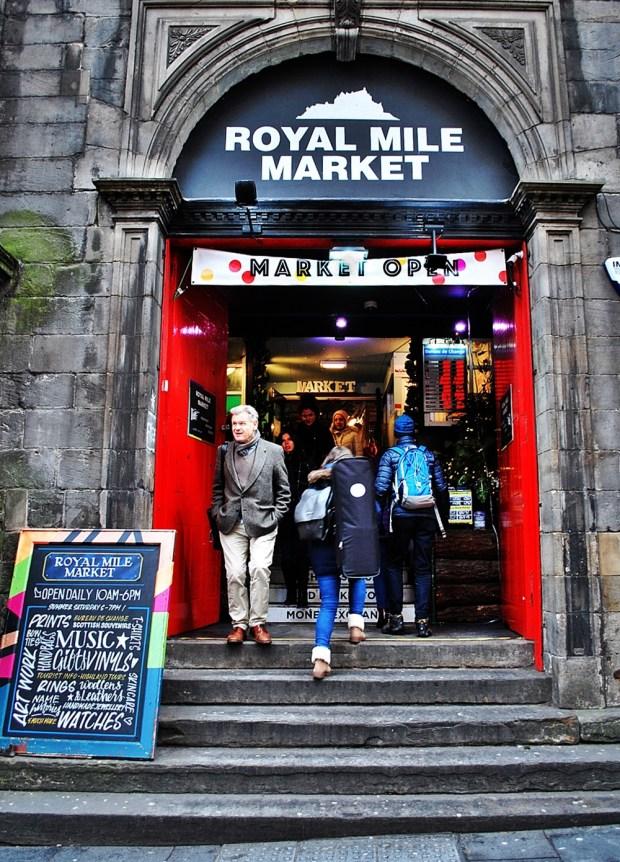 Tron Kirk Royal Mile Market Festive Things to do in Edinburgh