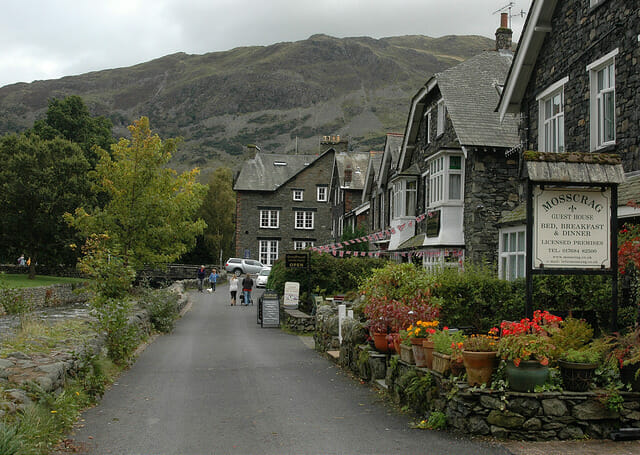 Ullswater Lakes District around Blencowe Hall