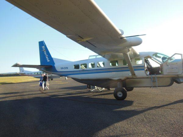 Cooktown plane