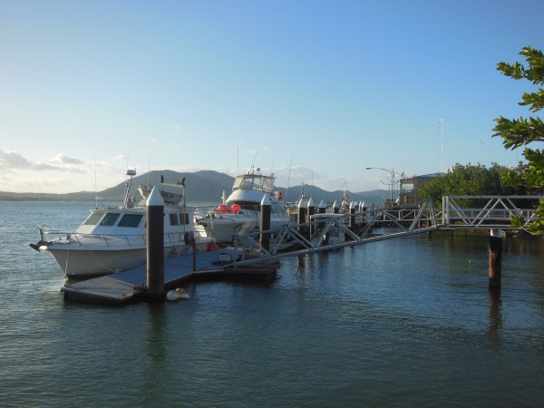 Cooktown boats
