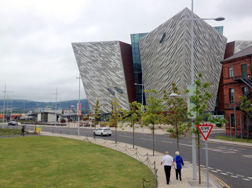 Titanic Centre Belfast Northern Ireland: Belfast city break
