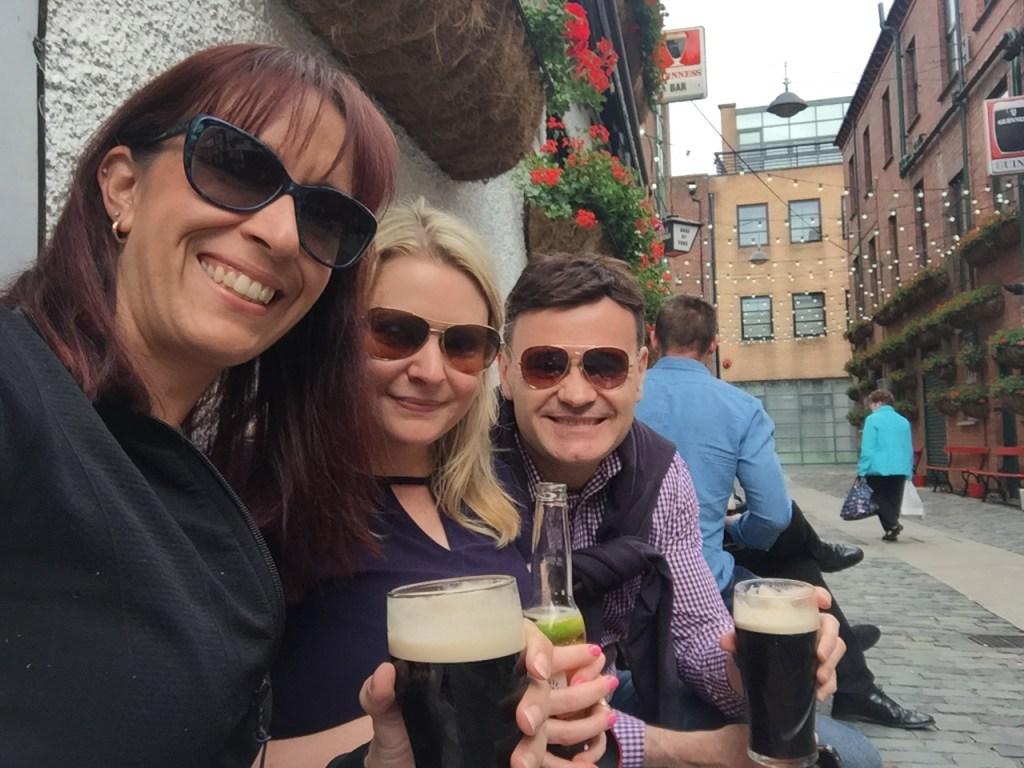 at the Duke of York Belfast Northern Ireland: Belfast city break