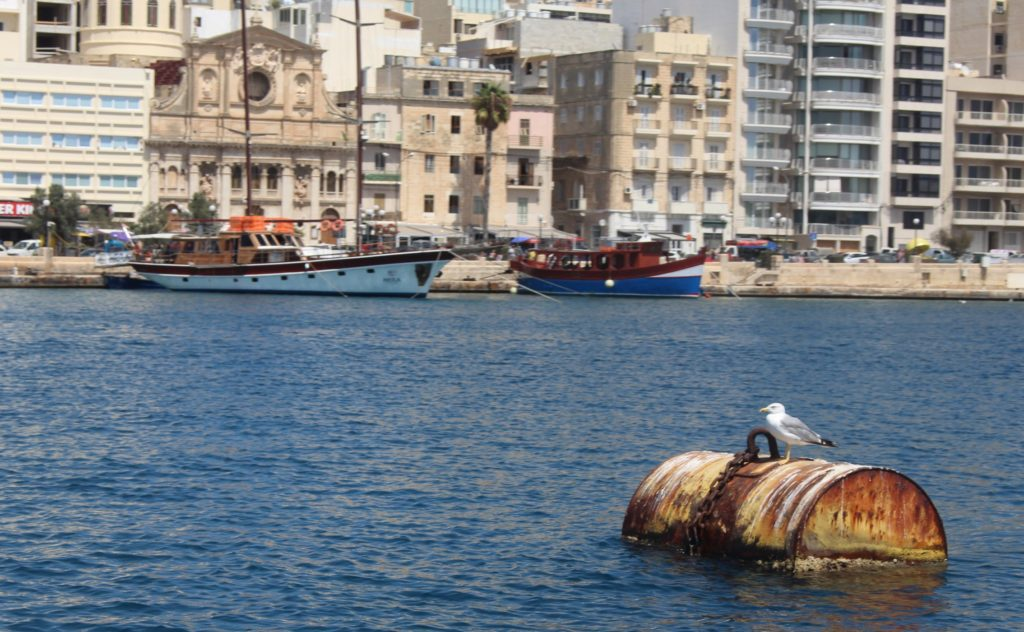 Malta harbour - Sarah Blinco travellivelearn.com