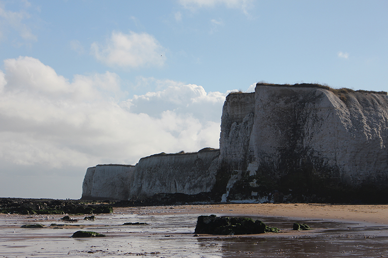 Days out in Kent - Botany Bay offers lovely scenery