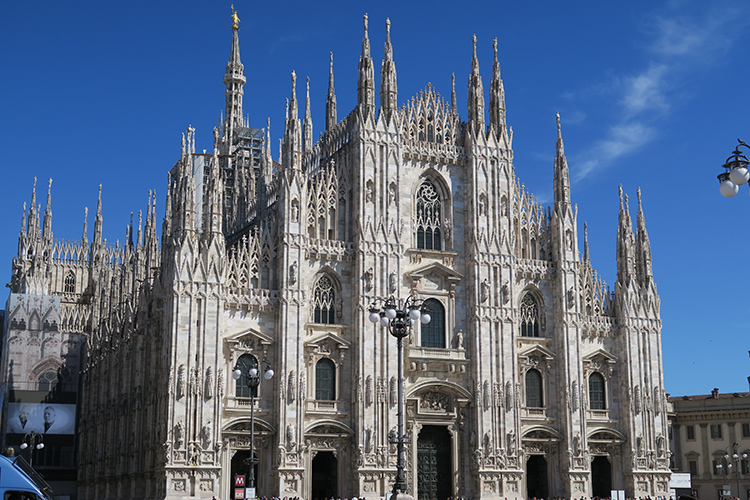Milan in a day - the Cathedral is a must