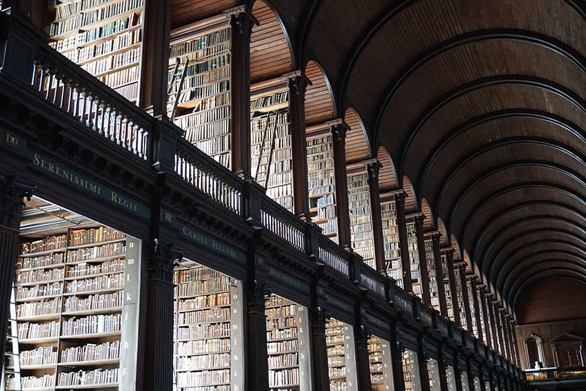Hidden gems Dublin - Trinity College is a must