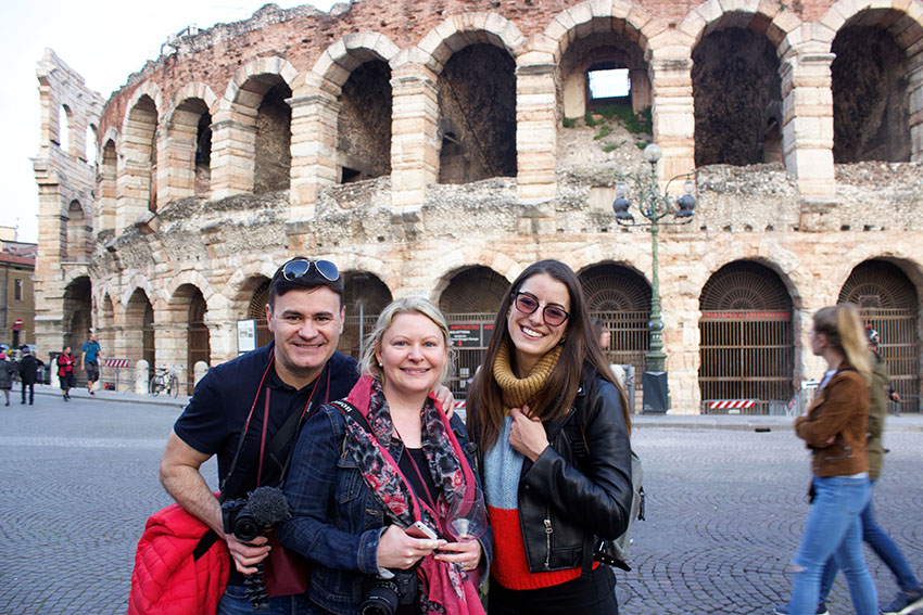 Wonderful Verona walking tour through key sites