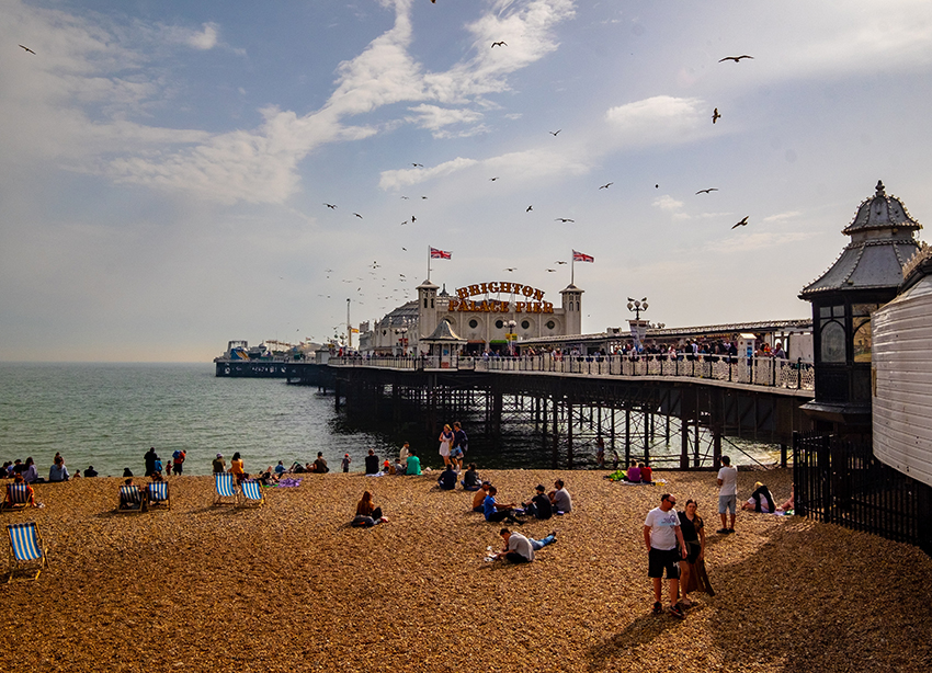 Brighton is great for a romantic break away