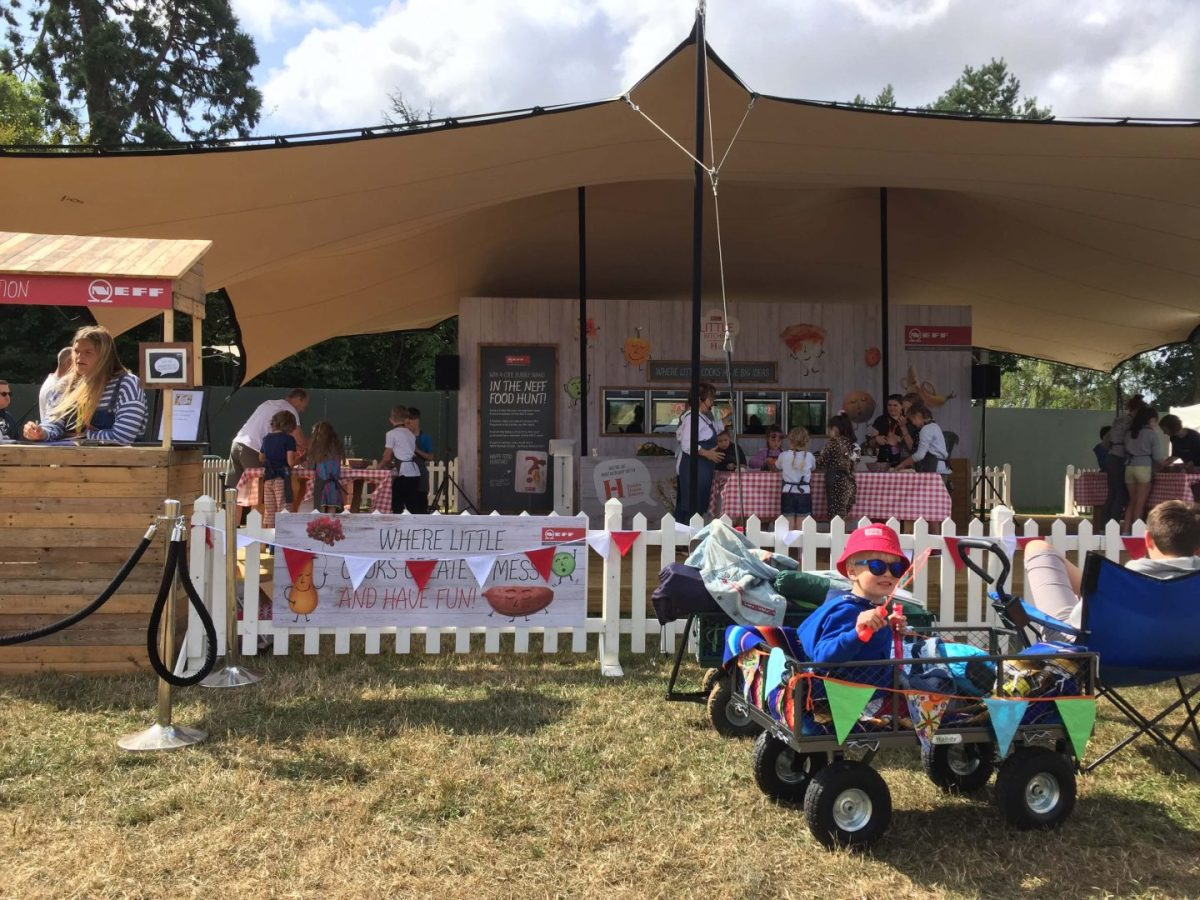 The Big Feastival 2018 cooking demos