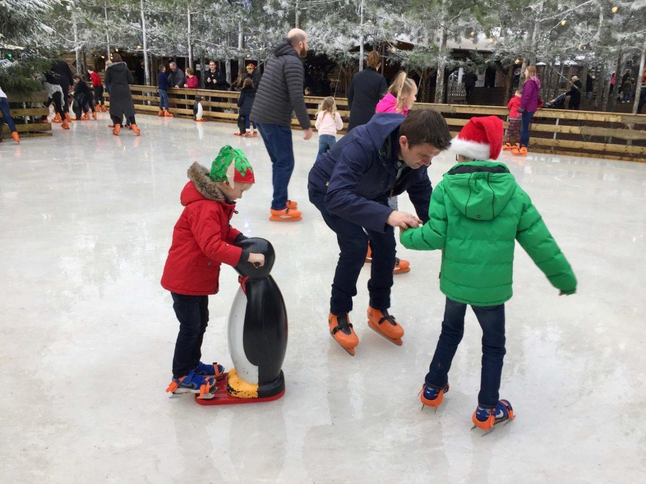 Lapland UK ice skating