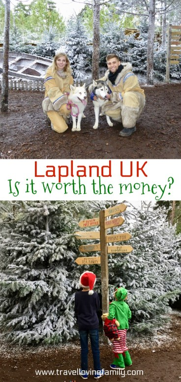 Lapland UK.  Is it worth the money?  A few months ago I searched for the exact same phrase you've just entered into Google - 'Lapland UK, is it worth the money?'  I couldn't decide whether it was worth the £300+ it was going to cost to book the experience for my husband, our two boys and I. #LaplandUK #SantaUK
