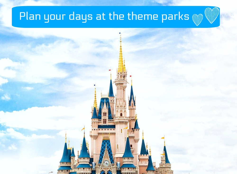 Tips for planning a family holiday to Orlando - how to plan for days at Orlando theme parks