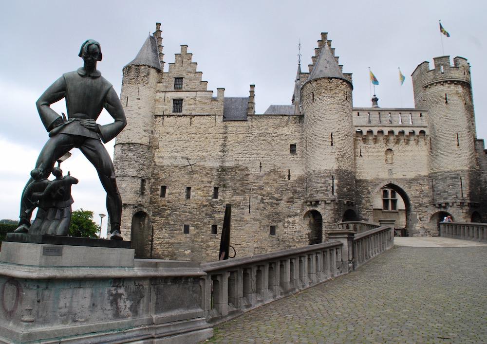 Het Steen Antwerpen België