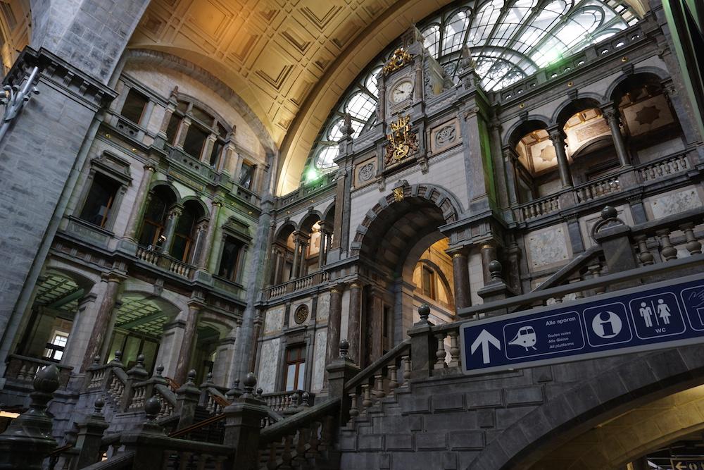 Centraal Station Antwerpen België