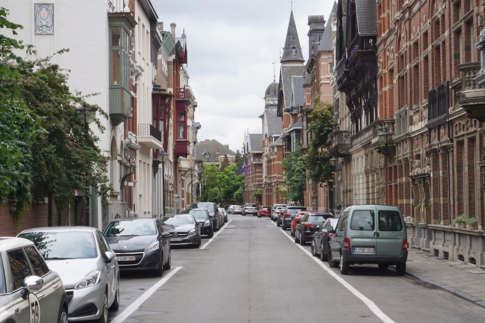 Zurenborg Antwerpen België
