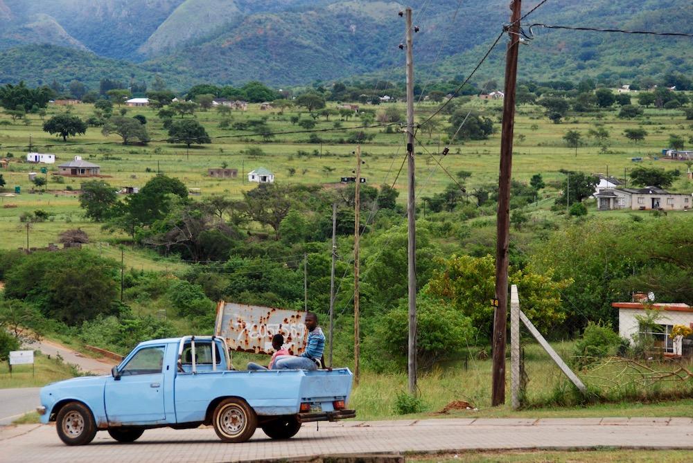 Route roadtrip Zuid-Afrika Koninkrijk eSwatini