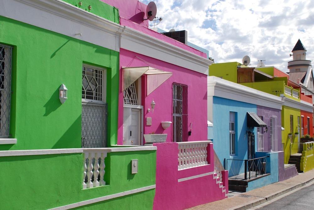 Bo-Kaap Kaapstad Zuid-Afrika