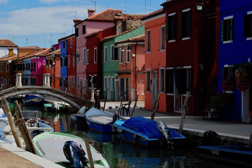 Kleurrijke steden Burano Italië