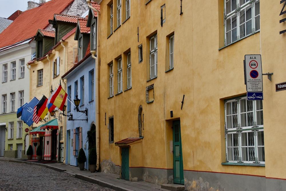 Kleurrijke steden Tallinn Estland