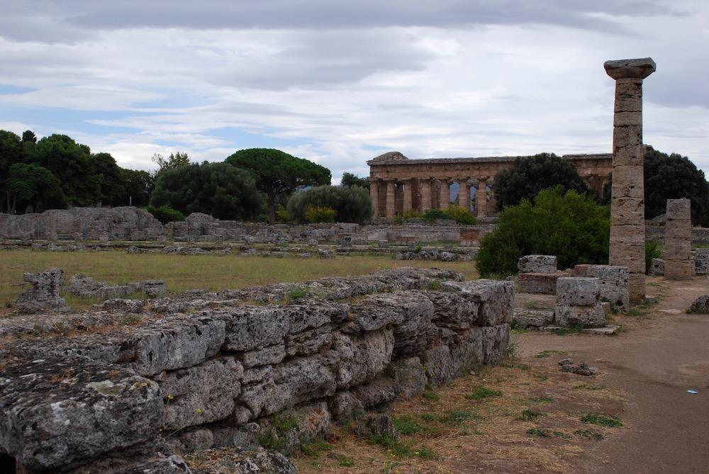 Tempels van Paestum Italië