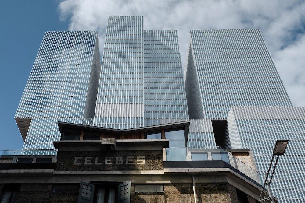 De Rotterdam Rem Koolhaas Rotterdam Nederland