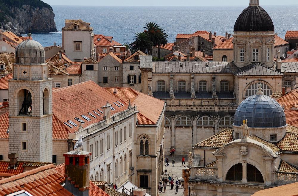 Kathedraal van Dubrovnik Kroatië