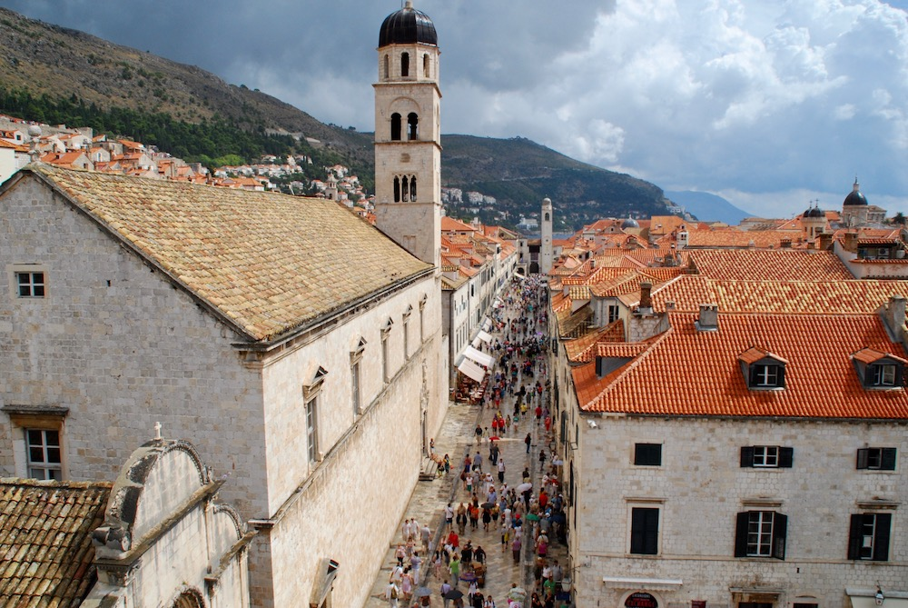 Stradun Dubrovnik Kroatië