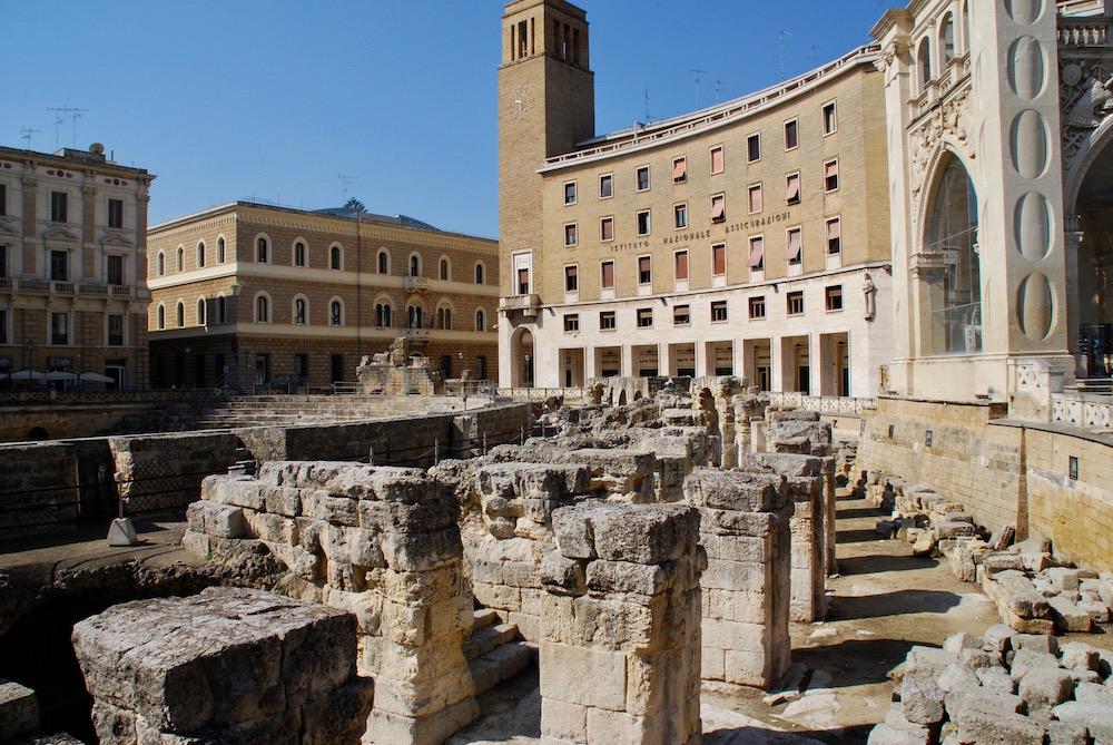 Amfiteatro Romano Lecce Italië