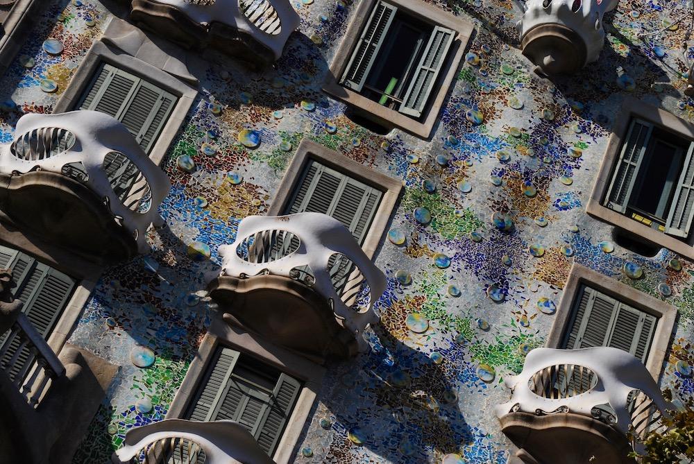 Antoni Gaudí Casa Batlló Barcelona Spanje