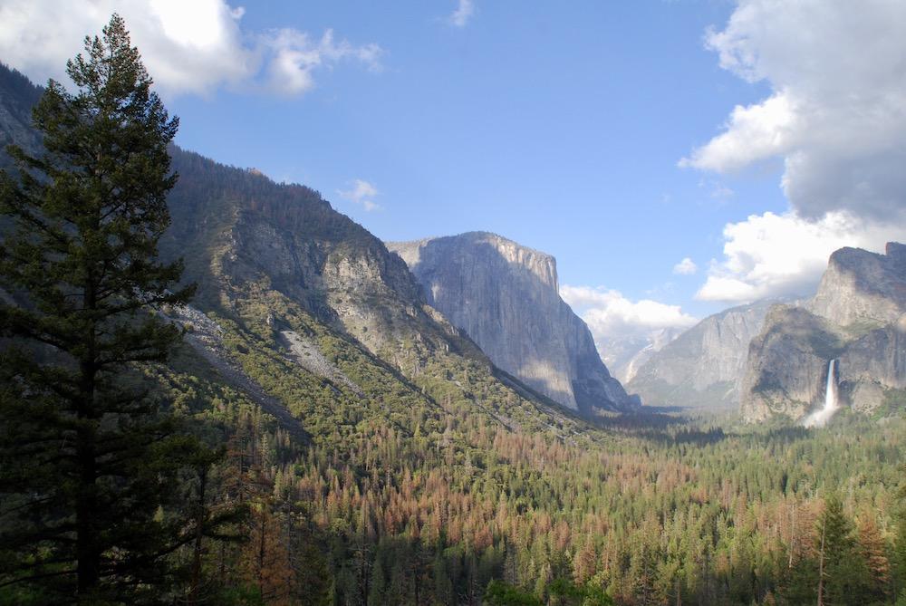 Tunnel View Yosemite National Park Verenigde Staten