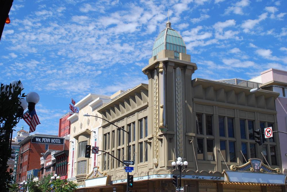Gaslamp Quarter San Diego Verenigde Staten