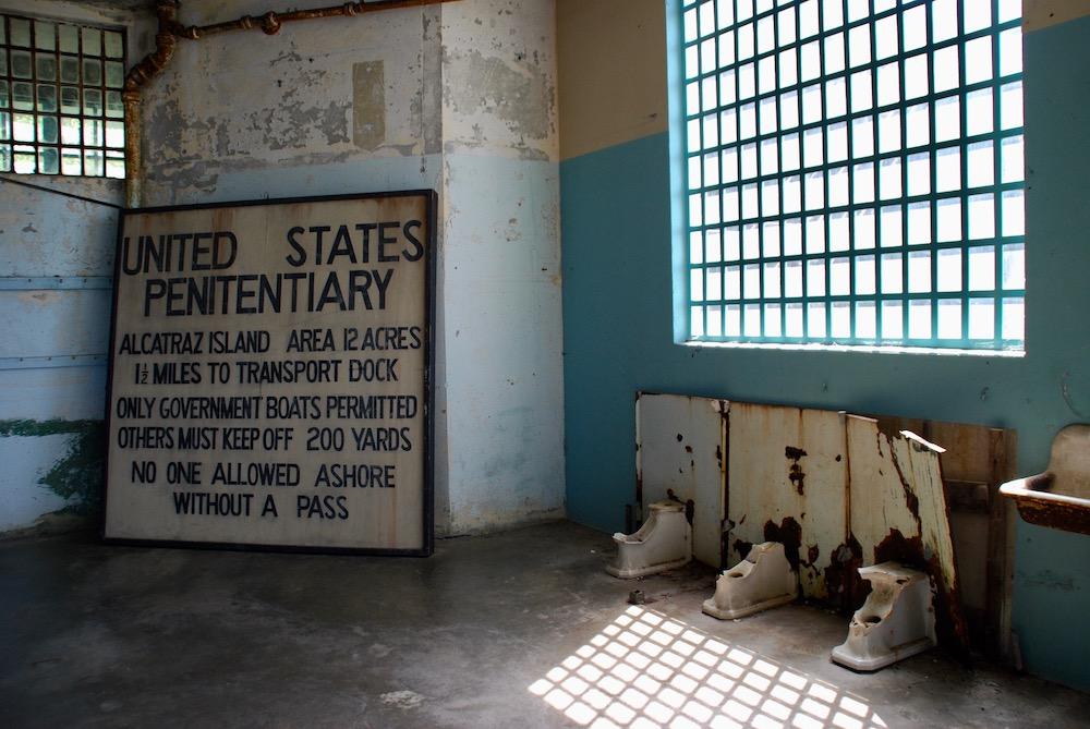 Route roadtrip Amerika Alcatraz Island